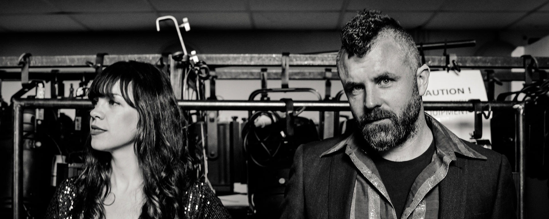 Mick Flannery and Susan O'Neill