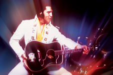 Elvis Presley on Stage